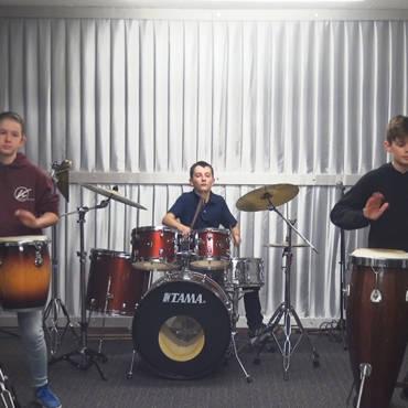 Schlagzeuger-Ensemble «Schlagzeug Show»